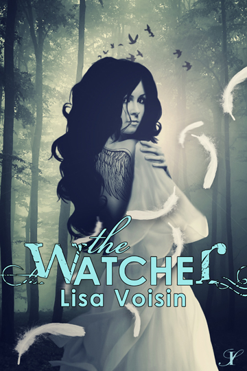 The Watcher, an exciting fallen angel book for young adults,  by Lisa Voisin