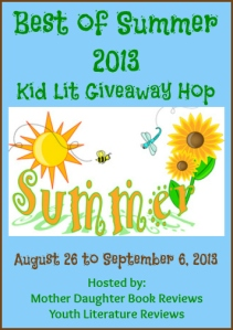 Best of Summer 2013 Kid Lit Giveaway Hop - Button